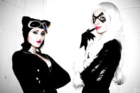 Feline Fatales of Marvel & DC Photoshoot