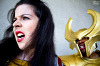Sif and Heimdall Photoshoot