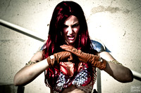Red Sonja Photoshoot