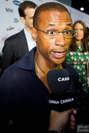 Tommy Davidson at POM Wonderful Presents: The Greatest Movie Ever Sold Red Carpet