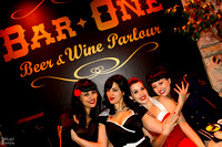 Bettie Page Celebration & Contest at Bar ONE